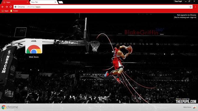Blake Griffin Chrome Theme
