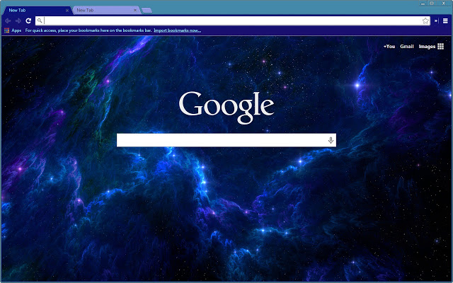 Blue Radiance Chrome Theme