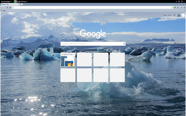 Fascinating Iceland Chrome Theme