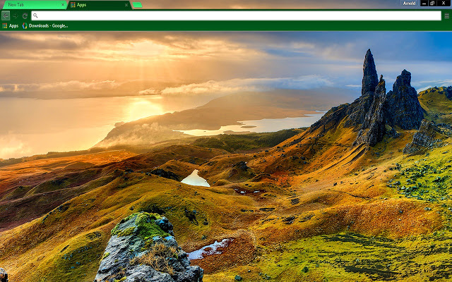 Isle Of Skye Scotland Google Chrome Theme