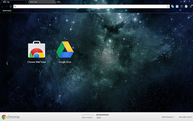 Universe Chrome Theme