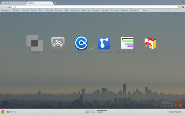 Another City Day Chrome Theme