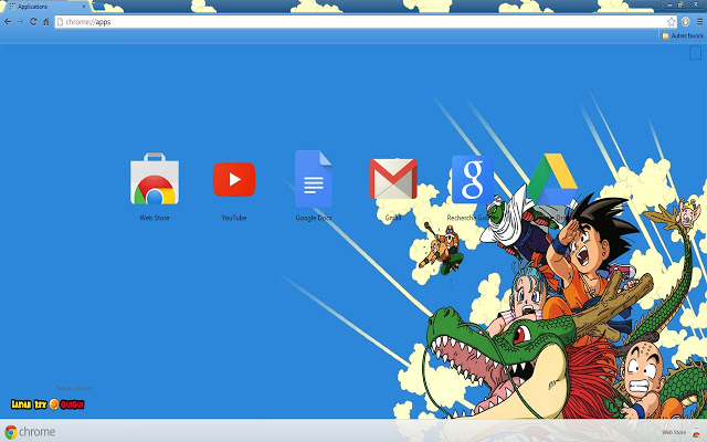 Dragon Ball Chrome Theme