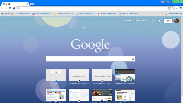 iOS 7 Flat Retina Chrome Theme