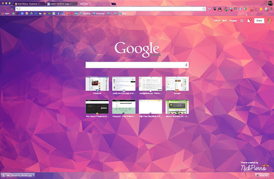 Polytheme Chrome Theme