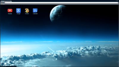 Space Sky Chrome Theme