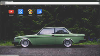 Volvo 242 Chrome Theme