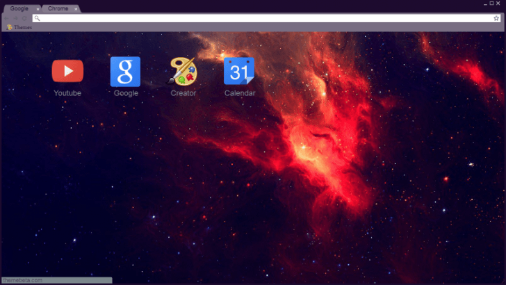 Super Nova Chrome Theme