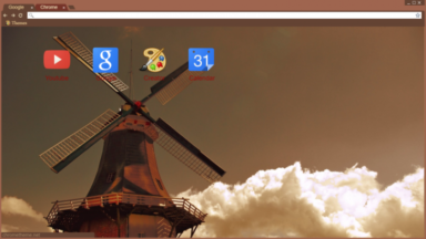Windmill Chrome Theme