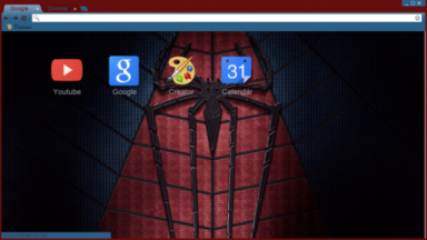 Spiderman Logo Chrome Theme