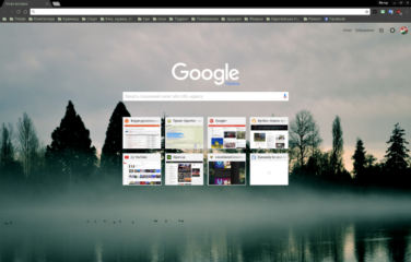 Adwaita Dark Green Chrome Theme