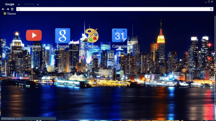 City Skyline Chrome Theme