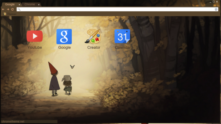 Over The Garden Wall Chrome Theme
