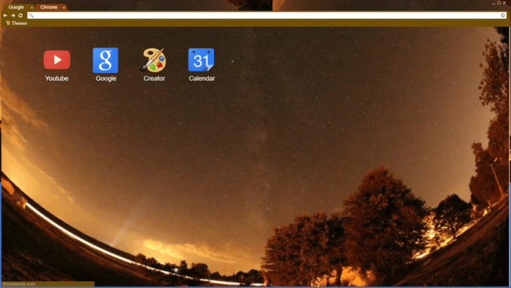 Stargazer Chrome Theme