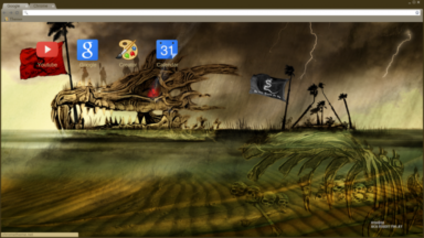 Skull Sanctuary Chrome Theme