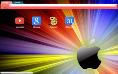 Apple Chrome Theme