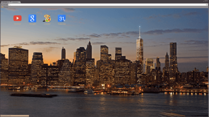 World Trade Center Chrome Theme