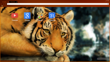 Tiger Chrome Theme