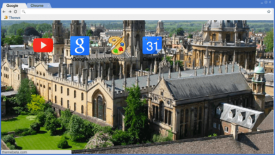 Oxford Skyline Chrome Theme