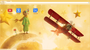The Little Prince Chrome Theme