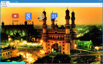 Charminar Chrome Theme