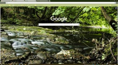 Tolka River Chrome Theme
