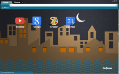 Cardboard City Chrome Theme