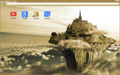 Cloud Castle Chrome Theme
