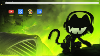 Monstercat Chrome Theme