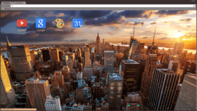 New York City Chrome Theme