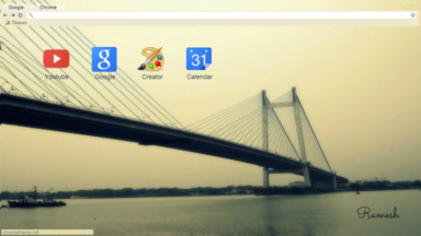 The Simple Bridge Chrome Theme
