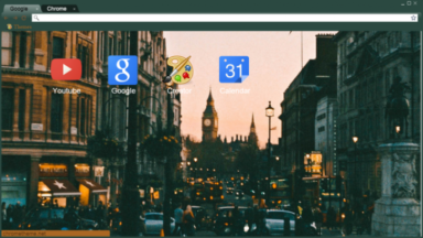 London – United Kingdom – England Chrome Theme