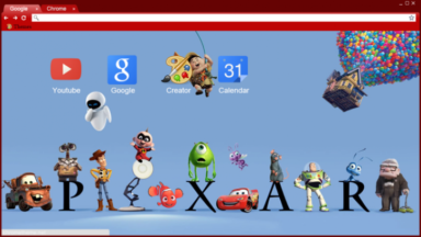 Pixar Chrome Theme