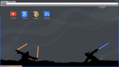Jedi Chrome Theme