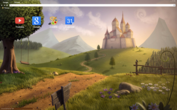 Little Kingdom Chrome Theme