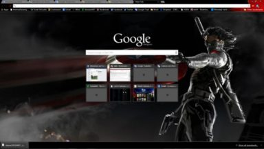 The Winter Solider Chrome Theme