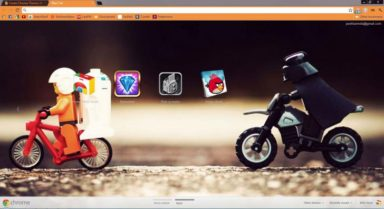 Lego Star Wars Chrome Theme