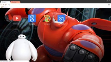 Big Hero 6 – Baymax Chrome Theme