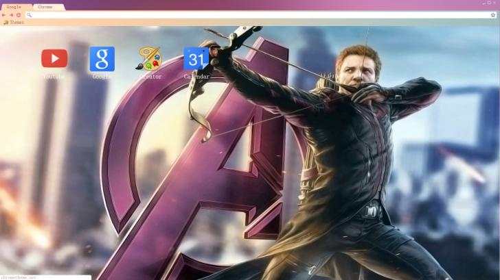 Hawkeye Chrome Theme