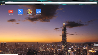 Taipei Chrome Theme