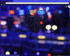 Rain / Lights Chrome Theme