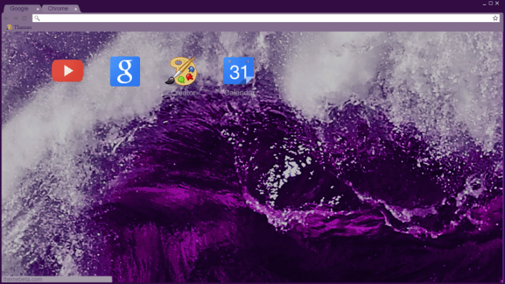 M A  N   I     A Wave Chrome Theme