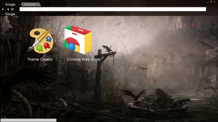 Fantasy Cities Chrome Theme