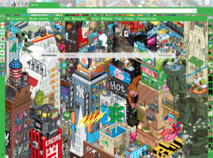 Cartoon City Theme Chrome Theme