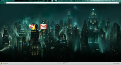 Bioshock Chrome Theme